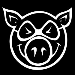 tee shirt pig wheels black...