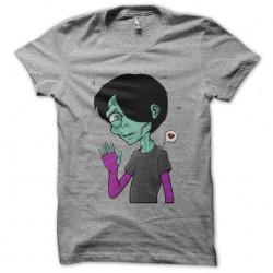 Emo gray zombie t-shirt...