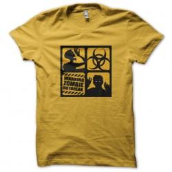 tee shirt Zombie outbreak...