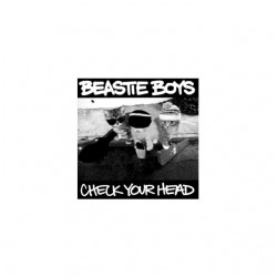 T-shirt Beastie Boys parody white cat sublimation