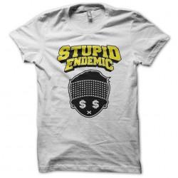 shirt Stupid Endemic white sublimation
