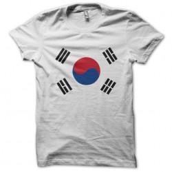 tee shirt koree drapeau...