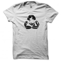 shirt skater logo white sublimation