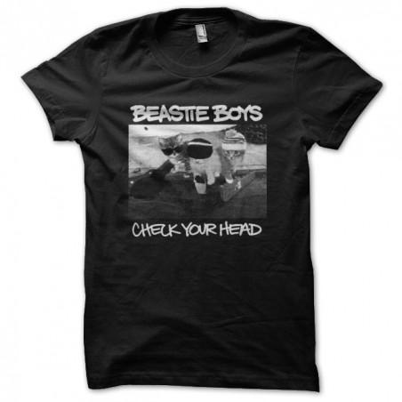 T-shirt Beastie Boys parody black cat sublimation