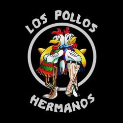 Los Pollos T-Shirt Hermanos black sublimation
