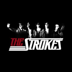 tee shirt the strokes black sublimation