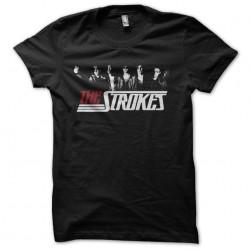 tee shirt the strokes black...
