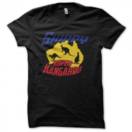 Tee shirt Skippy Super Kangourou  sublimation