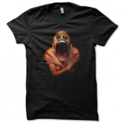 t-shirt creepy art black...