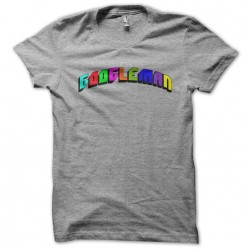 tee-shirt googleman gray...