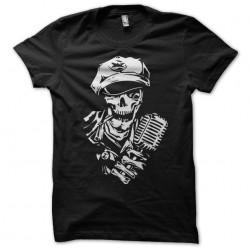shirt skull singer black...