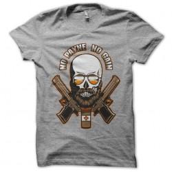 tee shirt No payne no gain...