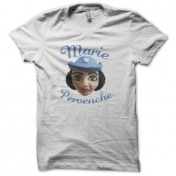 T-shirt Marie Pervenche white sublimation