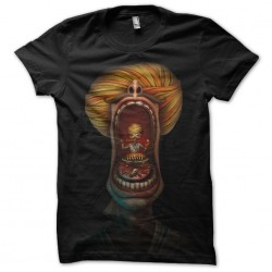 t-shirt Indian style black...