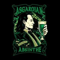 tee shirt Asgardian Absinthe  sublimation