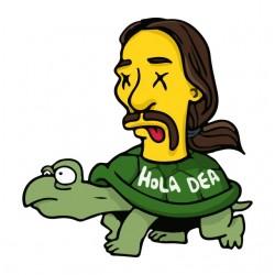 tee shirt hola dea  sublimation