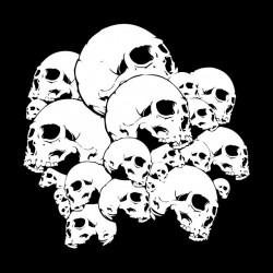 shirt skulls bandidos sublimation
