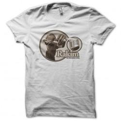 T-shirt Rakim white sublimation