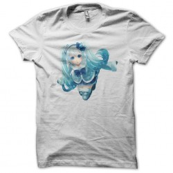 t-shirt hatsune miku white...