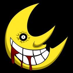tee shirt moon Soul Eater...