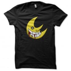 Soul Eater moon t-shirt black sublimation