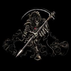tee shirt dead devil black sublimation