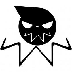 tee shirt Soul Eater Logo...