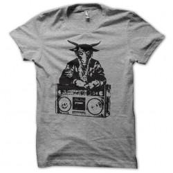 t-shirt satan radio illuminati gray sublimation