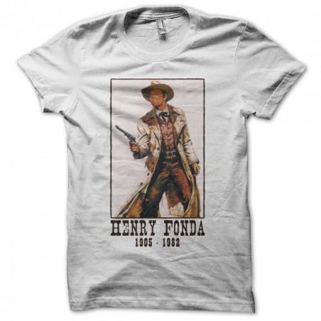 Henry Fonda tribute white sublimation t-shirt