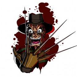 tee shirt Freddy krooger...
