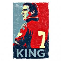 shirt Cantona 7 king white...