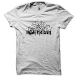 Iron maiden white sublimation t-shirt
