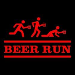 tee shirt Beer Run...