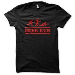 tee shirt Beer Run  sublimation