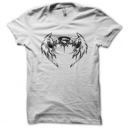 t-shirt superman wing version white sublimation