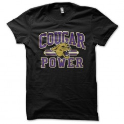 tee shirt cougar power  sublimation