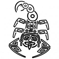 tee shirt maori scorpion...