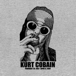tee shirt Kurt Cobain Nirvana  sublimation
