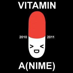 vitamin anime t-shirt black sublimation