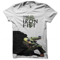 tee shirt the immortal iron fist  sublimation