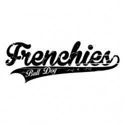 t-shirt frenchies bull dog...