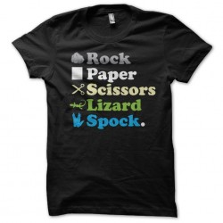 t-shirt rock paper scissors...