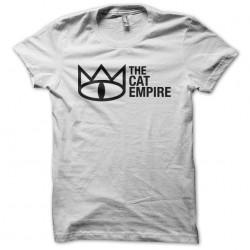 shirt the cat empire white sublimation