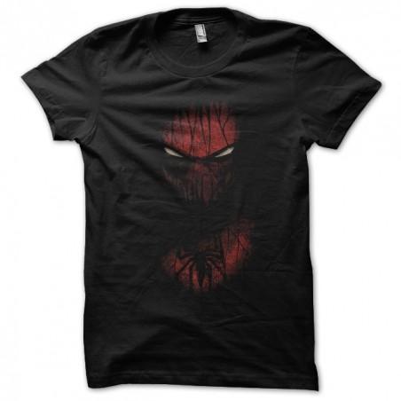 Tshirt spidermanetonnant black sublimation