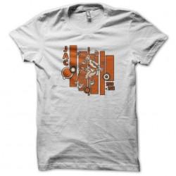 Jac anime club t-shirt white sublimation
