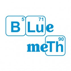 Tee Shirt Blue Meth...