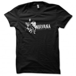 tee shirt nirvana  sublimation