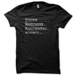 tee shirt big bang theory...