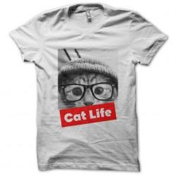 Cat life white sublimation...