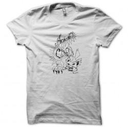 t-shirt dragon anime white...